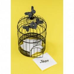 Tirelire Cage Noire