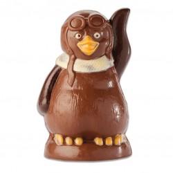 PINGOUIN AVIATEUR CHOCOLAT LAIT