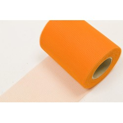 Rouleau Tulle ORANGE (20m)