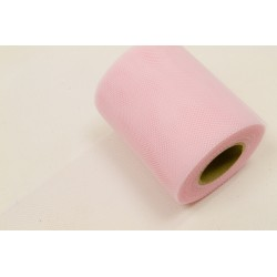 Rouleau Tulle ROSE PALE (x20m)