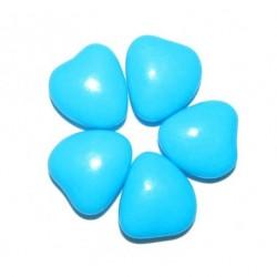 Dragées MINI COEUR Bleu turquoise 1KG