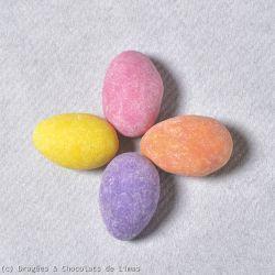 Dragées Mangas Givrés Multicolore 1 kg