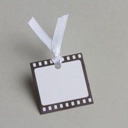 x12 Etiquettes carrées Cinema