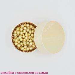 Dragées PERLES de Sucre Or 150G