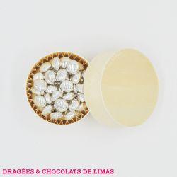 Dragées MINI CONFETTIS Chocolat Argent 500G