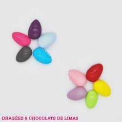 Dragée Amande COMTESSE Multicolore Brillant 1KG