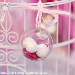 Boule Transparente ⌀ 5cm (x1)