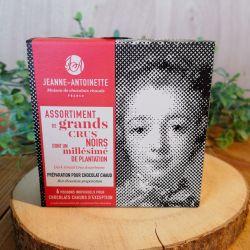 CHOCOLAT CHAUD  Assortiment de Grands Crus Noirs 6x40G