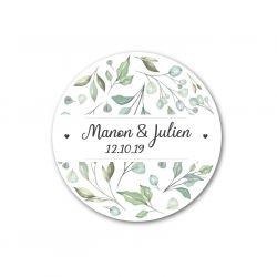 Sticker personnalisé NATURE x35