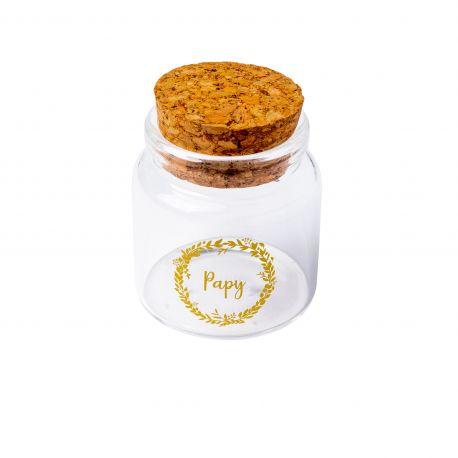 FIOLE Papy Verre + bouchon liège