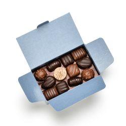 Ballotin chocolats variés 250grs 24 chocolats