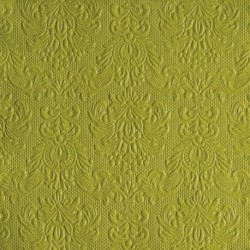 Serviettes de Table Vert Anis ELEGANCE 33x33cm