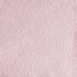 Serviettes de Table Rose Nacré ELEGANCE 33x33cm