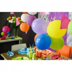 Ballon Multicolore ⌀ 23cm (x25)