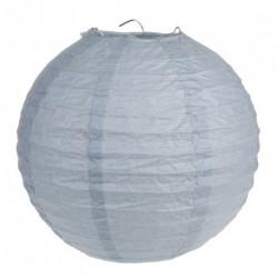 Lanterne Gris 30cm (x2)
