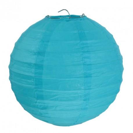 Lanterne Turquoise 30cm (x2)