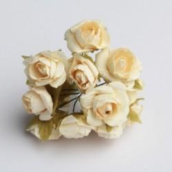 Roses sur Tige Ivoire (x12)