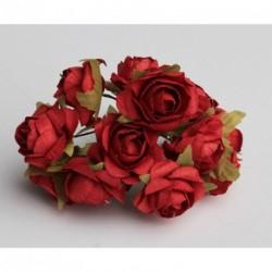 Roses sur Tige Rouge (x12)