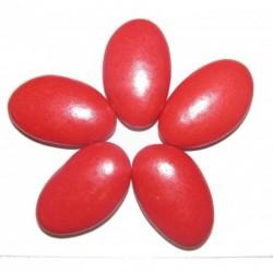 Dragées CHOCOLAT Rouge Brillant 1KG