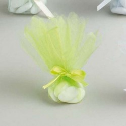 Tulles CRISTAL Vert Anis (x10 )