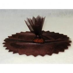 Tulles CRISTAL Chocolat (x10)