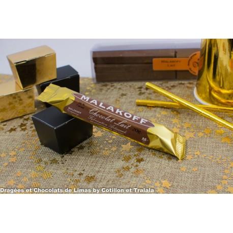 Barre Chocolat Malakoff Chocolat Lait (x1) 20grs