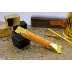 Barre Chocolat Malakoff Lait Caramel Gabin (x1) 20grs