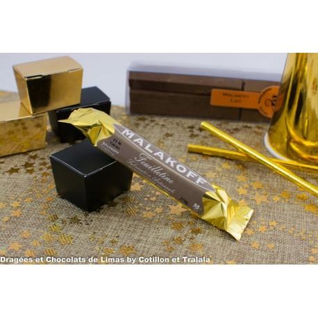 Barre Chocolat Malakoff Lait Feuilletine (x1) 20grs