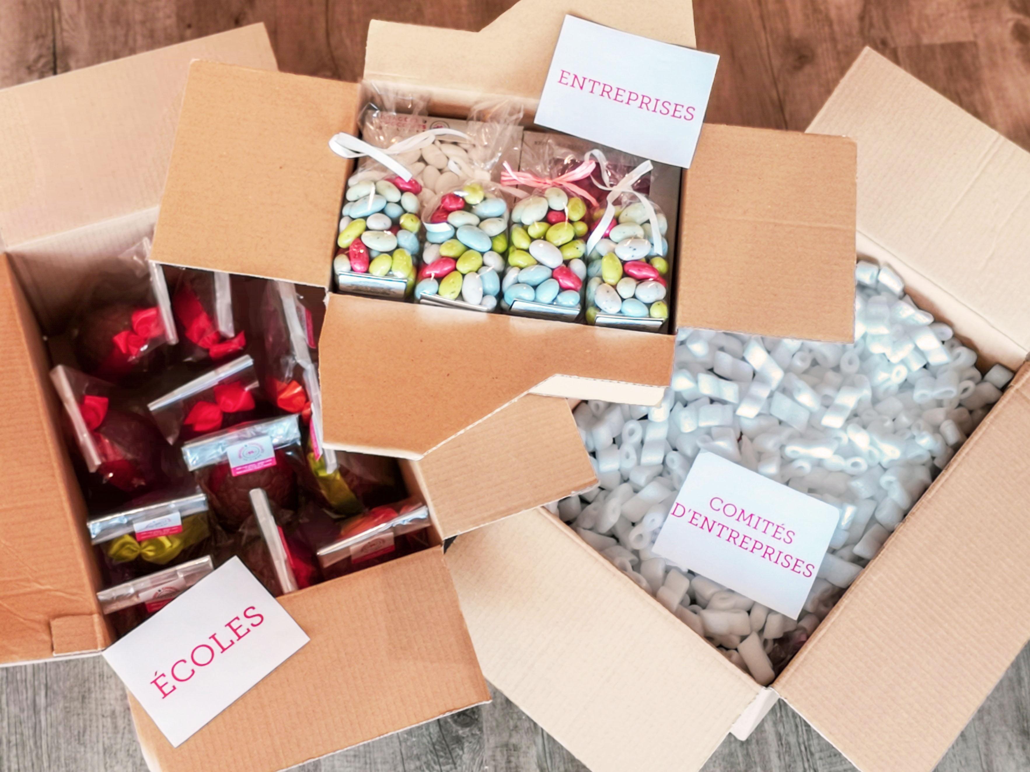 dragées et chocolats pour entreprises, professionnels et associations